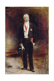 Study for the Portrait of Felix Faure Giclee Print by Leon Joseph Florentin Bonnat