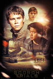 Maze Runner 2 Collage Posters