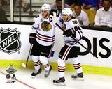 Jonathan Toews & Patrick Kane Game Six of the 2013 NHL Stanley Cup Finals Photo