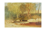 On the Washburn, C.1815 Giclee Print by Joseph Mallord William Turner