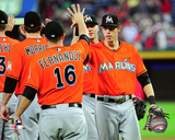 Jose Fernandez & Christian Yelich 2013 Photo