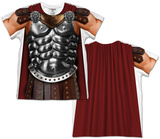 Toddler: Gladiator Costume Tee (Front/Back) T-Shirt