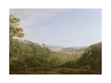 The Valley of the Teign, Devonshire, 1780 Giclee Print by Francis Towne
