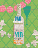 Summer Wine Celebration II Posters by  Studio Bella