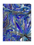 Cobalt Palm III Photographic Print by Ricki Mountain