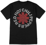 Red Hot Chili Peppers- Vintage Distressed Logo Tシャツ