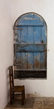Old Door and Chair Photographic Print by Bernardo Bonnefon