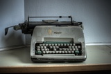 Old Typewriter Photographic Print by Nathan Wright