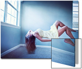 Female Floating in Room Posters by Maren Kathleen Slay