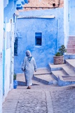 Female Figure in Moroccan Alleyway Photographic Print by Steven Boone