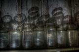 Old Jars Photographic Print by Nathan Wright