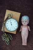 Toy Doll and Watch Photographic Print by Den Reader
