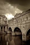 Pulteney Bridge, Bath, England Photographic Print by Tim Kahane