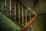 Cobwebs on Stairway Photographic Print by Nathan Wright