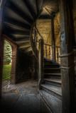Spiral Staircase Fotografisk tryk af Nathan Wright