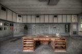 Abandoned Control Room Photographic Print by Nathan Wright