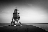 Herd Groyne Lighthouse and Harbour Photographic Print by Gary Turner