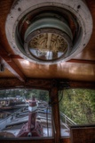 Old Barge with Compass Photographic Print by Nathan Wright