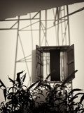Window with Shadows Photographic Print by Tim Kahane