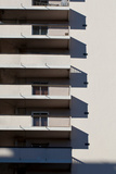 Balconies on High Rise Building Photographic Print by Bernardo Bonnefon