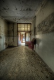 Abandoned Corridor Photographic Print by Nathan Wright