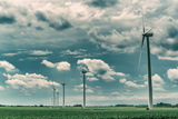 Wind Turbines Photographic Print by Stephen Arens