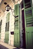 Green Doors in Usa Photographic Print by Jillian Melnyk