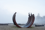 Curved Sculpture Photographic Print by Sharon Wish