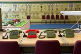 Telephones in an Old Power Station Photographic Print by Nathan Wright