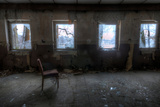 Derelict Interior with Chair Photographic Print by Nathan Wright