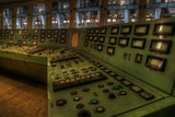 Control Panel in Old Power Station Photographic Print by Nathan Wright