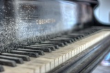 Old Piano Photographic Print by Nathan Wright