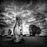 Standing Stones in Countryside Photographic Print by Rory Garforth