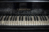 Old Bechstein Piano Photographic Print by Nathan Wright