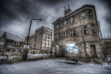 Abandoned Building in Winter Photographic Print by Nathan Wright