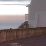 House with Sunset Photographic Print by Bernardo Bonnefon