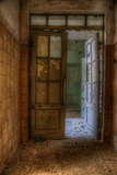 Derelict Interior Hallway Photographic Print by Nathan Wright