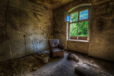 Derelict Room with Chair Photographic Print by Nathan Wright