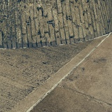 Concrete Wall and Road Surface Photographic Print by Clive Nolan