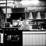 Chef in Restaurant Photographic Print by Rory Garforth