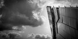 Abstract Architecture and Sky Photographic Print by Gary Turner