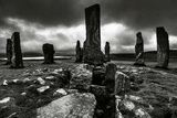 Historic Standing Stones in Scotland Photographic Print by Elizabeth May