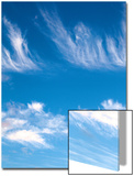 Blue Sky with Whispy Clouds Prints by Mark Sunderland