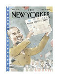 The New Yorker Cover - September 14, 2015 Regular Giclee Print by Barry Blitt