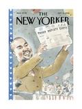 The New Yorker Cover - September 14, 2015 Premium Giclee Print by Barry Blitt