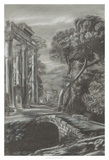 Classical Landscape Triptych I Giclee Print by Naomi McCavitt