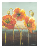 Poppy Tops II Art by Wendy Russell