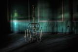 Lighting in Deserted Room Photographic Print by Nathan Wright
