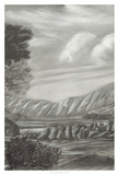 Classical Landscape Triptych II Giclee Print by Naomi McCavitt
