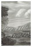 Classical Landscape Triptych II Giclee Print by Naomi McCavitt